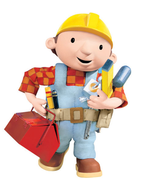 Bob the builder on his way to build the esvelt.nl webhome